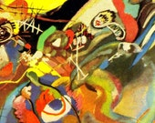 Composition VII Sketch 1 Wassily Kandinsky 1913 Art Masters Vintage Color Lithograph Poster To Frame