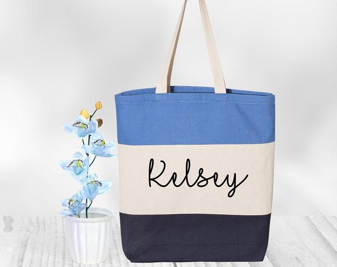 Custom Tote Bag Canvas, Tote Bag Personalized, Tote Bag Women, Bridesmaid Tote Bag Gift, Personalized Tote Bag, Cotton Canvas Tote