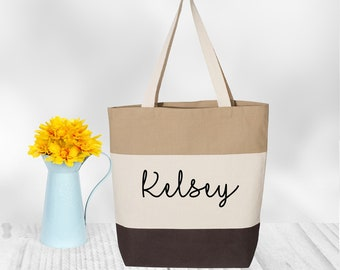 canvas bag personalized, Bridesmaid Gift, personalized tote, personalized gift, bridesmaid tote