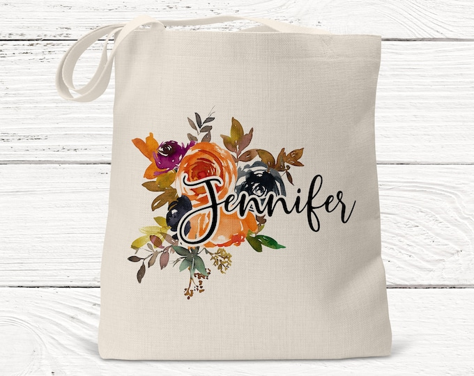 Personalized Bridesmaid Gift Tote Bag- Wedding Party Gift- Bridal Party Gift- Initial Tote- Mother of the Bride Gift, Custom Bag DS3023