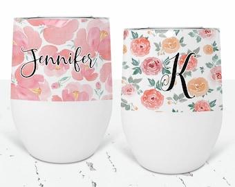 Wine Tumbler Custom Wine Tumbler Bridesmaid Wine Tumbler Bridesmaid Gift Wine Cup Bachelorette Party Favors Bridesmaid Proposal