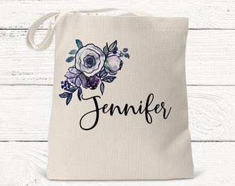 personalized tote bag, bridesmaid gifts, beach bag, bachelorette party gift, maid of honor gift DS3005