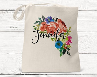 Bridesmaid Gifts, Personalized Bridesmaid Tote - Wedding Party Gift - Maid of Honor-Personalized Bridesmaid Gift Tote Bag DS3069