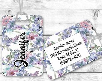 luggage tags, personalized luggage tag, bag tag, carry on bag tag, custom tag, destination bridesmaid gift LGF24