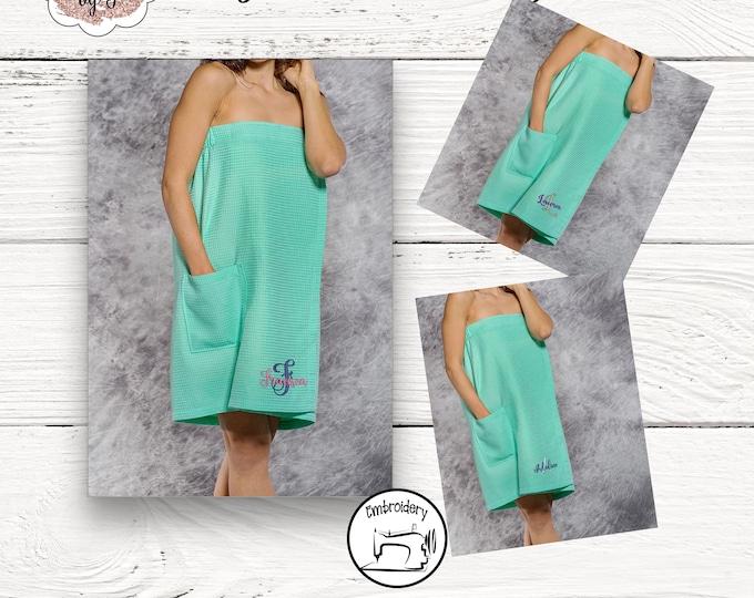 Mint Towel Wrap