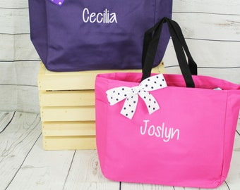Easter Bunny Bag, Personalized Easter Tote