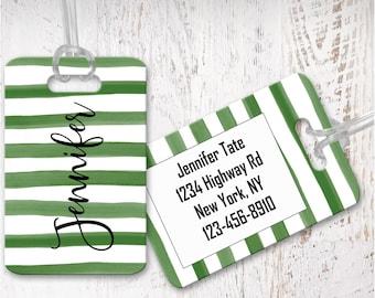 luggage tag, personalized luggage tags, bag tag, carry on bag tag, custom tag, destination bridesmaid gift LG18