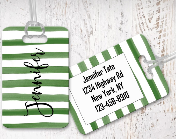 luggage tag, personalized luggage tags, bag tag, carry on bag tag, custom tag, destination bridesmaid gift LG18