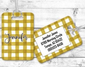 Personalized bag tags, travel bag tag, Luggage Tags, bridesmaid gift for destination wedding, destination wedding favor