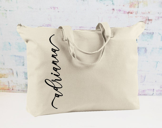 Personalized Weekender Bag/ Bridesmaid Gift/ Wedding Party Gift