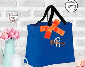 Personalized Bridesmaid Gift Tote Bag (ESS1)