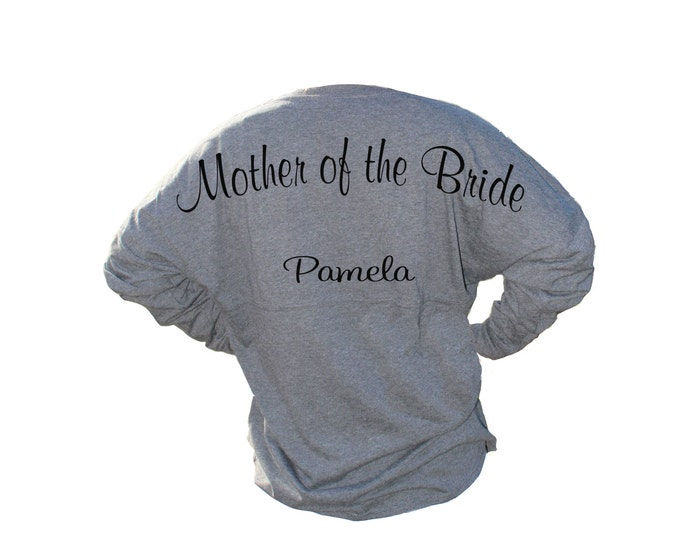 Mother of the Bride Gift, Mother of the Groom Shirt, Spirit Shirt, Pom Pom, Jersey, Custom Shirt