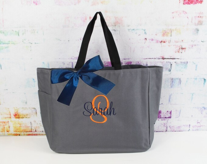 14 Personalized Bridesmaid Gift Tote Bag Wedding Party Gifts Bridesmaids Tote Bridal Party Gifts Wedding Day Bag