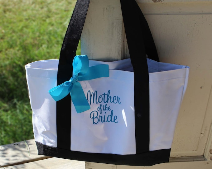 Personalized Boat Tote Bag, Bridesmaid Gift, Mother of the Bride Tote Bag, Bridesmaid Gift, Mother of the Groom Gift (OS2T)