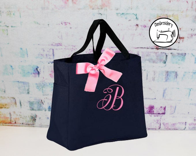 Personalized Bridesmaid Tote Bag (AZESS1)