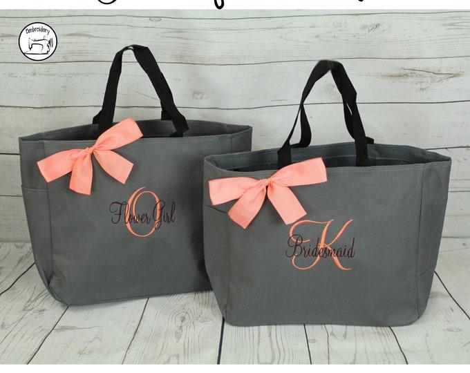 Christmas Gift, Holiday Tote Bag, Merry Christmas Tote Bag, Embroidered Tote (ESS1)