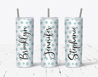 Personalized Gift, Bridesmaid gifts, Personalized Tumbler DS81