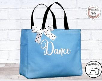 Personalized Dance Bags Cheer Team Bag Cheerleading Ballet Tap Dance Bag