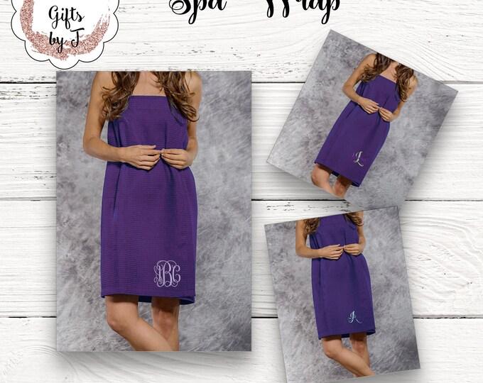 Purple Towel Wrap