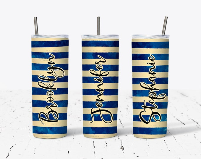 Personalized Bridesmaid Tumblers, Personalized Tumbler, Bridesmaid Gift, Bachelorette Party, Bridesmaid Glass DS25