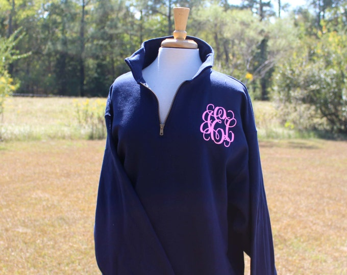 Big Little Sorority Shirt, Big Little Gift, Spirit Shirt, 1/4 Zip Pullover Sweatshirt, Monogrammed Sweatshirt, Personalized , Trending Now