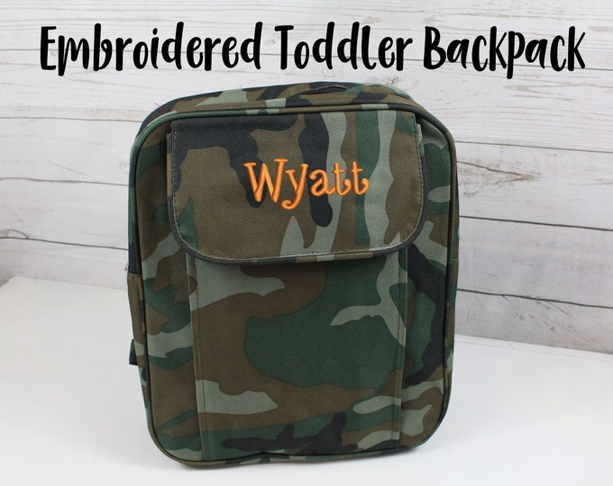 Camouflage Backpack, Camo Toddler Backpack