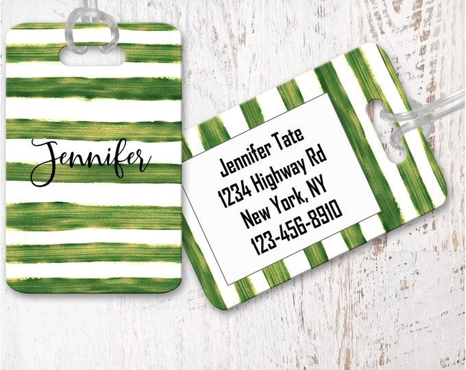 Personalized Luggage Tags, Luggage tag, Destination wedding favors, Fall Wedding Favors, Custom Bag Tag lg14
