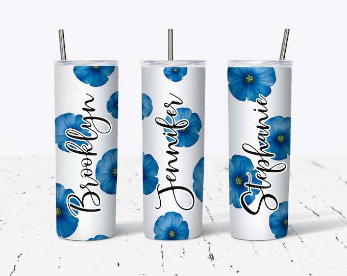 Personalized Bridesmaid Tumbler, Personalized Tumbler, Bridesmaid Gift, Bachelorette Party, Bridesmaid Glass DS26