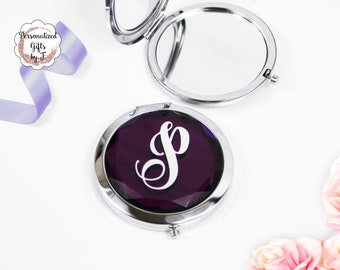 Purple Jeweled Compact