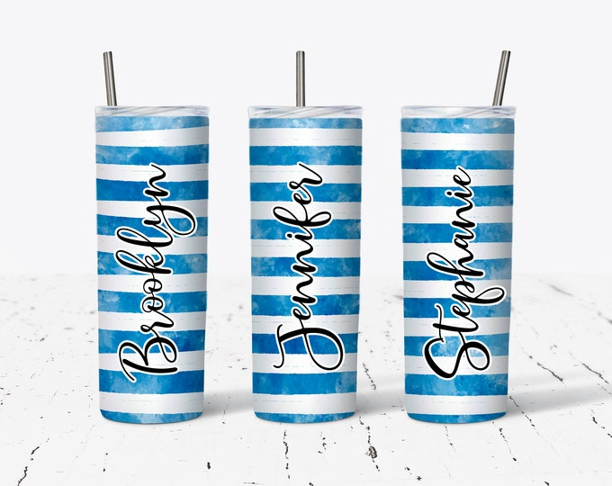 Personalized Bridesmaid Tumblers, Personalized Tumbler, Bridesmaid Gift, Bachelorette Party, Bridesmaid Glass DS27