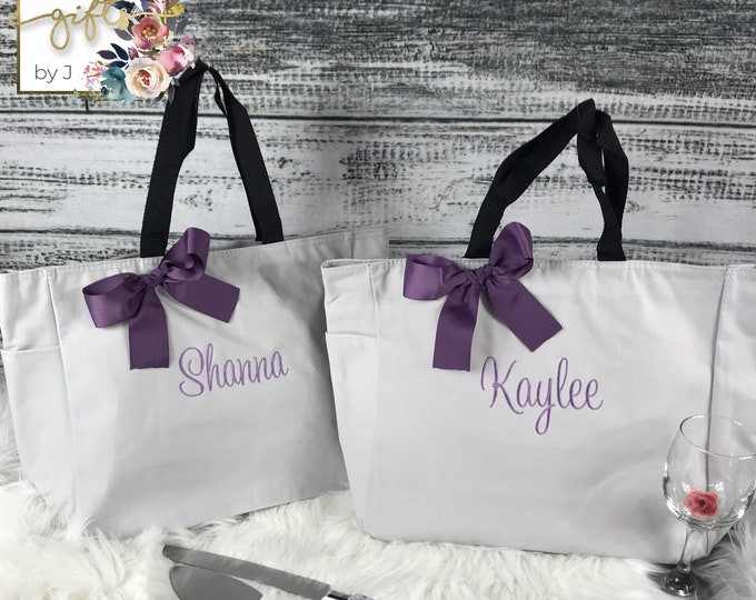 Personalized Tote Bag, Custom Tote Bag, Co Worker Gift,  Teacher Tote (ESS1)