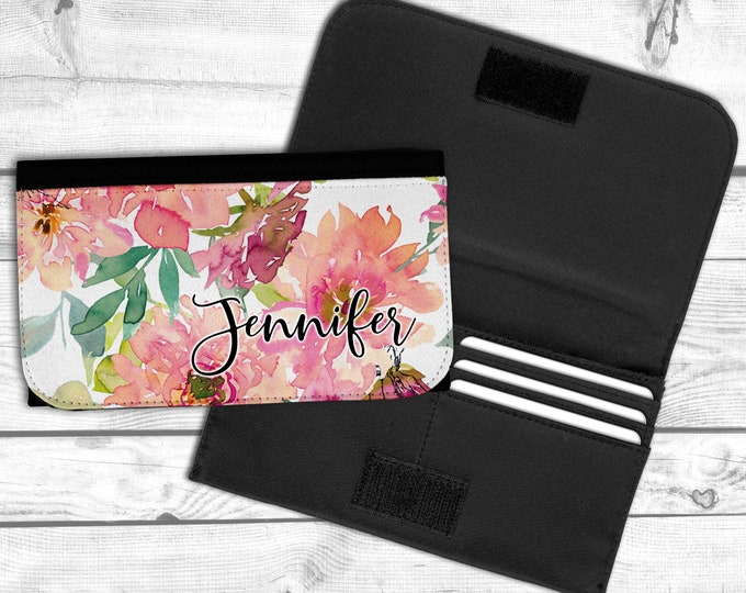 Womens Wallet, Personalized wallet, bridemaid gift,