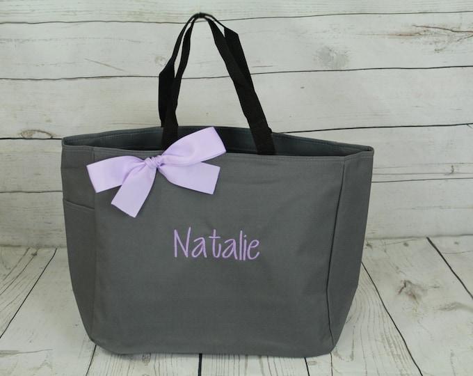 Personalized Bridesmaid Tote Bag, Bridesmaid Gift, Personalized Bridesmaid Tote, Wedding Party Gift, Name Tote