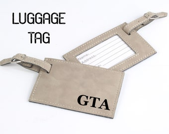 Personalized Luggage Tag, Groomsmen Gifts, Bag Tag,