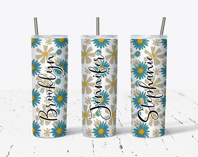 Personalized Bridesmaids Tumbler, Personalized Tumblers, Bridesmaid Gift, Bachelorette Party, Bridesmaid Glass design ds45
