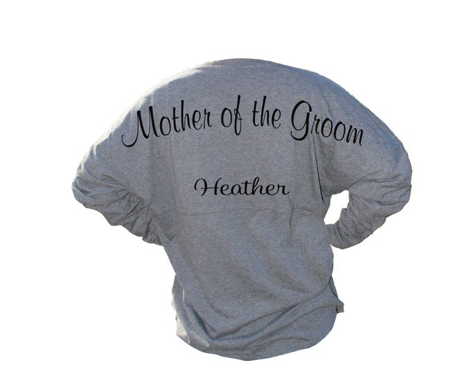 Mother of the Groom Gift, Billboard Jersey, Pom Pom Jersey, Game Day Jersey, Senior Shirt, Monogrammed Shirts, Mother of the Bride Shirt