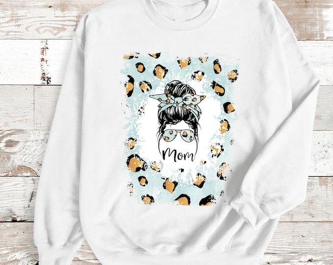 Messy Bun Tshirt, Messybun Mom tee shirt, Messy bun personalized tshirt, Personalized Sweatshirt