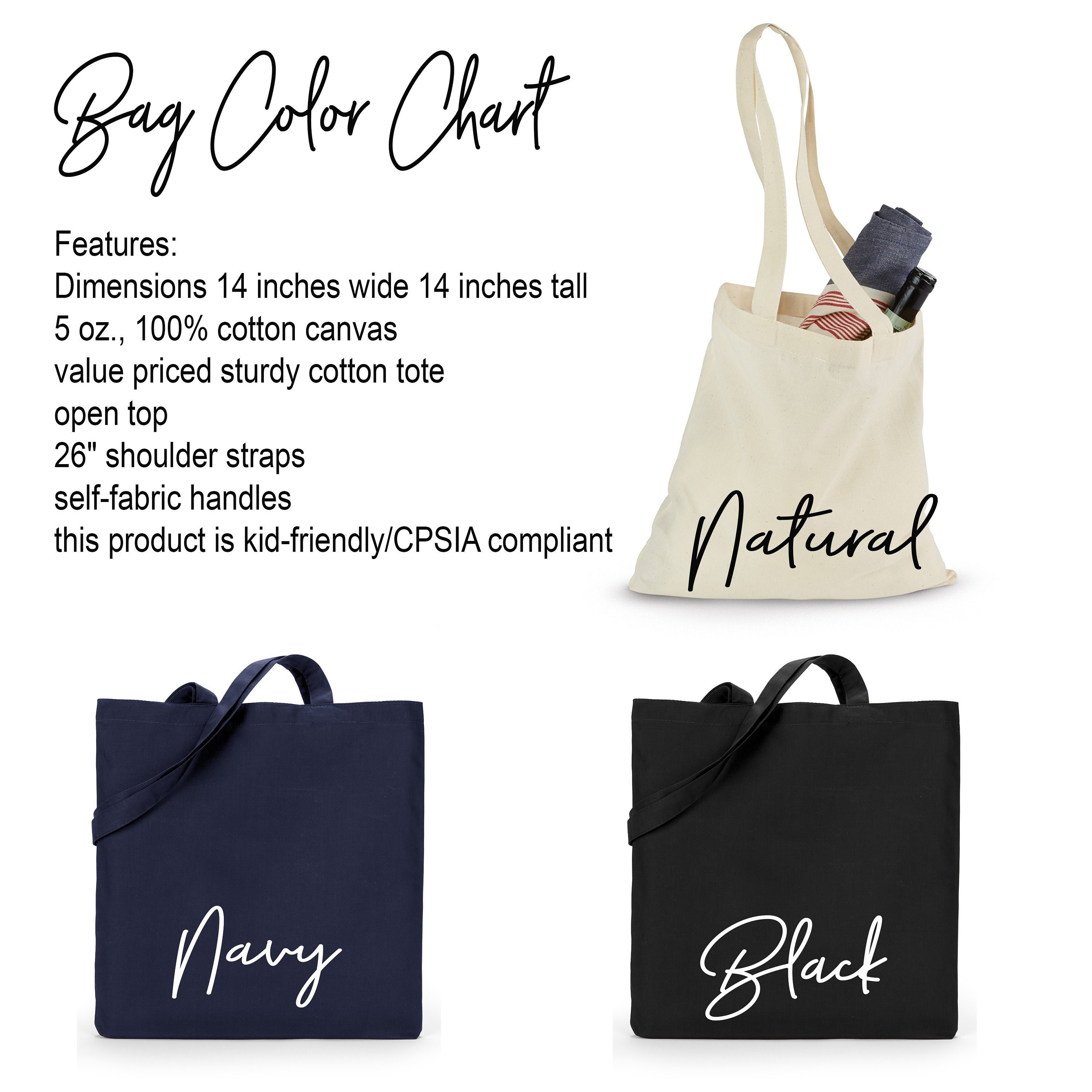 Monogrammed Tote Personalized Tote Gifts For Her Wedding Party