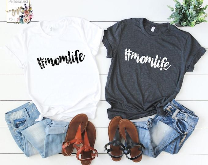 Mom Life Tshirt #momlife tshirt (metallic and matte foils)