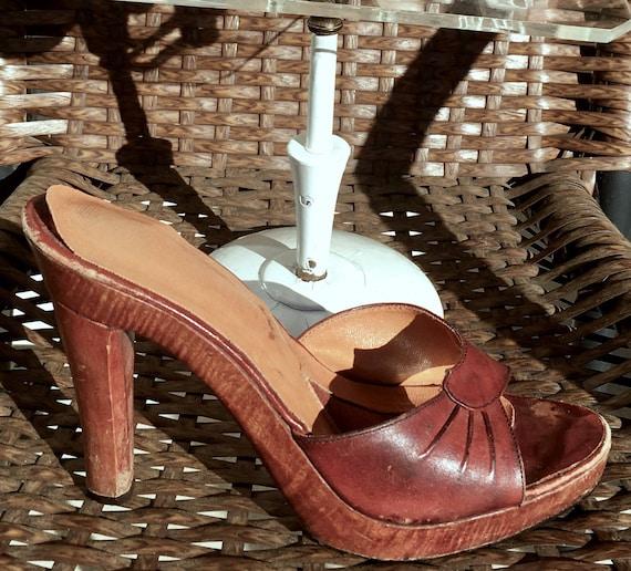 Ruth Platform Slingback Sandal