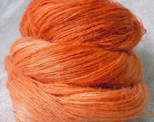 Hemp Laceweight - Pumpkin