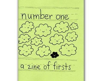 Number One A Zine of Firsts