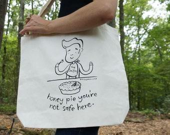 Honey Pie Morrissey Tote Bag