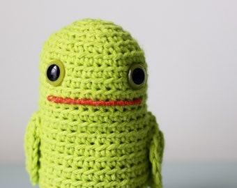 Timmie #273 - Softie Plush Toy - Cute Mutant Frog Tadpole