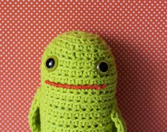 Timmie #271 - Softie Plush Toy - Cute Mutant Frog Tadpole