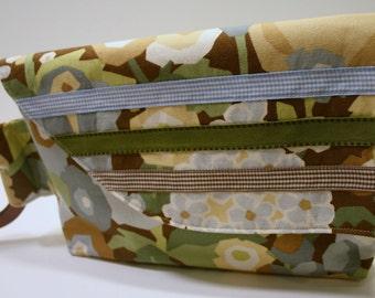 VERKOOP bloemen stof handgemaakte koppeling, handgemaakte weefsel handtas, schoudertasje Clutch tas, Tricia Bag