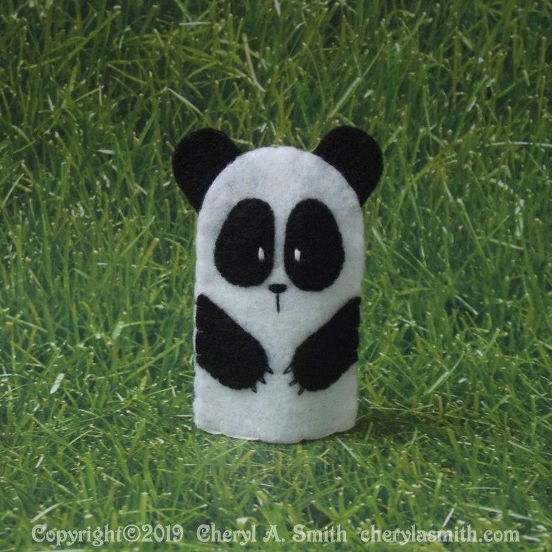 Panda Puppet Polar Bear Puppet Bear Finger Puppet Felt Finger Puppet Brown Bear Felt Animal Puppet Select a Color Felt Bear Puppet