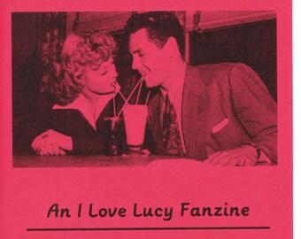 I Love Lucy Fanzine - Paper Crush no. 6