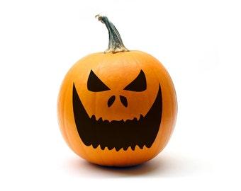 Jack O Lantern Face 4 Size Large Halloween Decorations Etsy