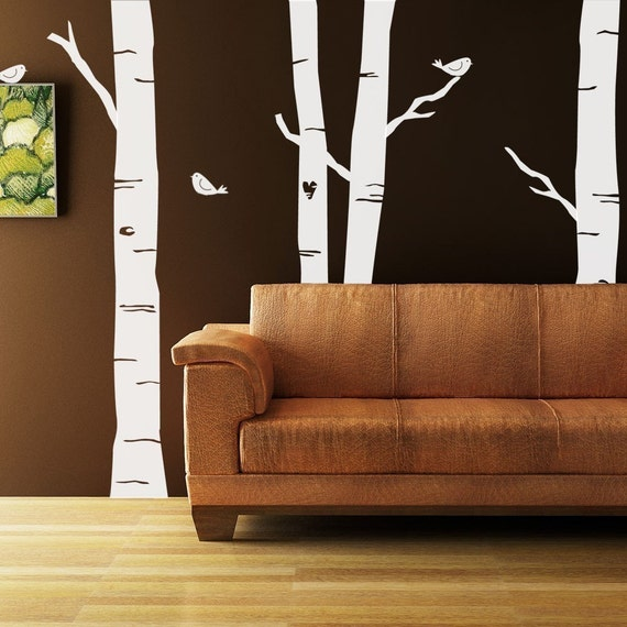Forest Kit Vinyl Decal Size LARGE Home Decor Office